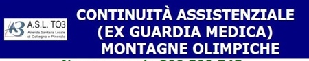 ESTATE 2019: CONTINUITA' ASSISTENZALE (EX GUARDIA MEDICA)