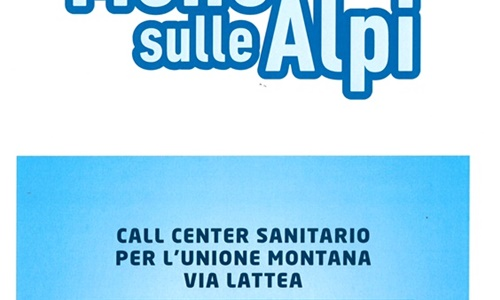 CALL CENTER SANITARIO PER L'UNIONE MONTANA VIA LATTEA